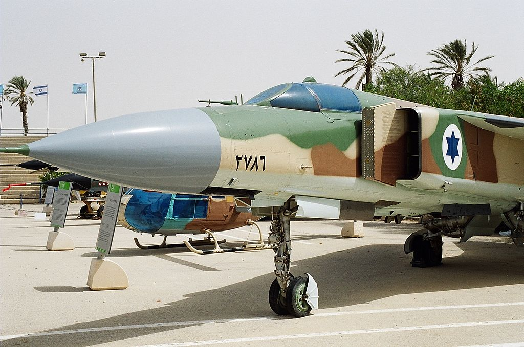 How the defection to Israel of a Syrian Air Force MiG-23-pilot embarrassed the IAF