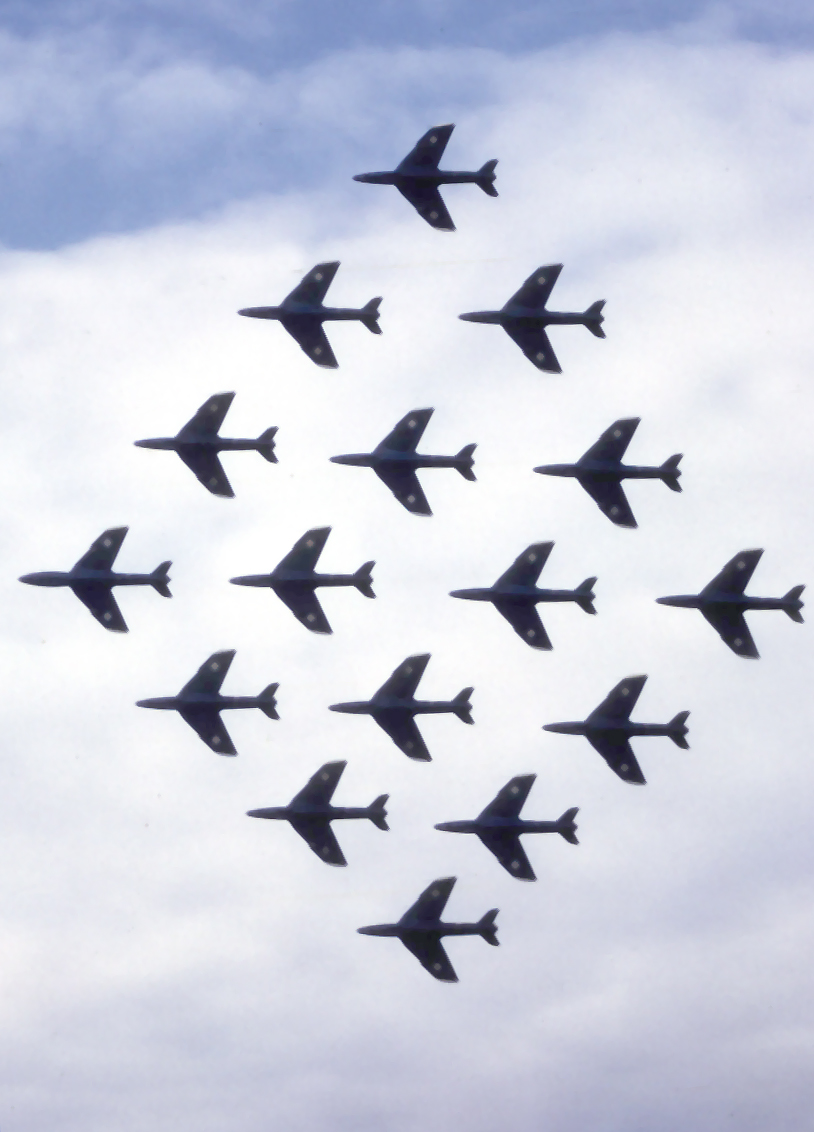 "The Black Arrows and the story of the World record ""22 Hunter Loop"" formation"