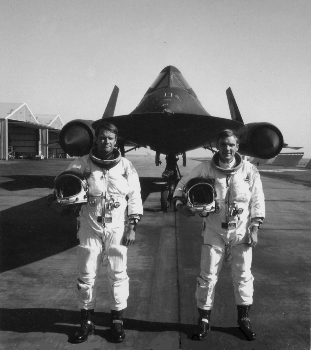 This SR-71 Blackbird crew set the Absolute Speed Record that still stands today