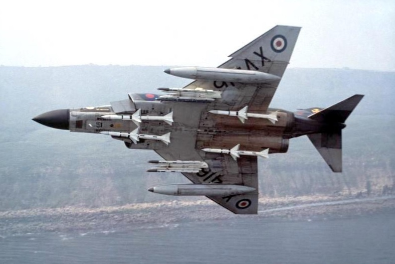 That time a RAF Phantom was nearly shot down by its own Skyflash air-to-air missile