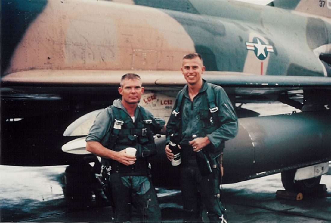 Pardo's Push: how an F-4 pushed a crippled F-4
