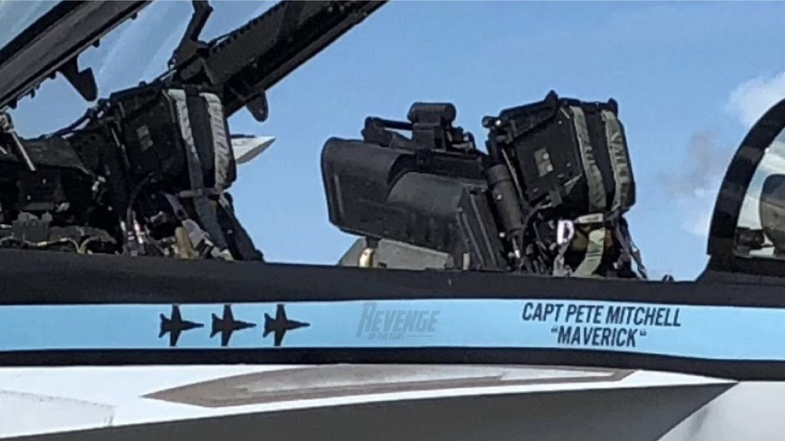 This could be the F/A-18F Super Hornet that Maverick will fly in Top Gun Sequel