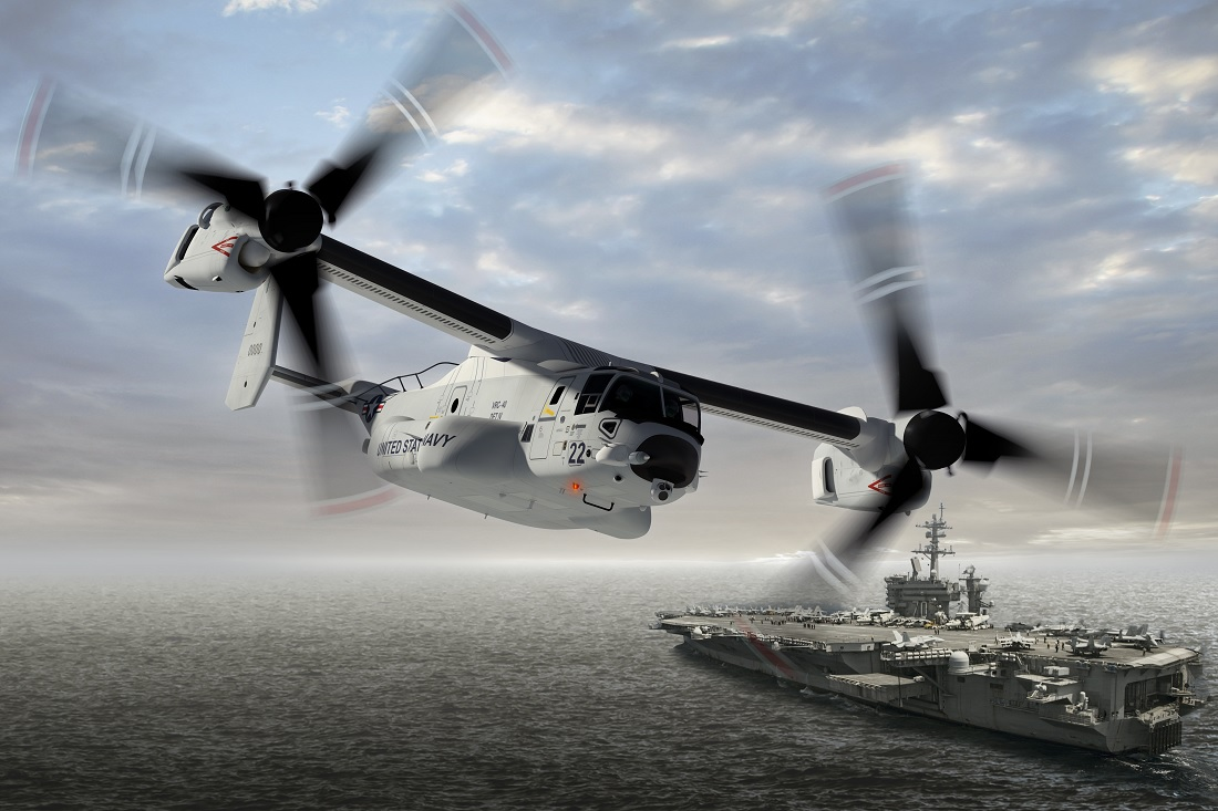 U.S. Navy accelerating sunset of C-2 and deployment of CMV-22B