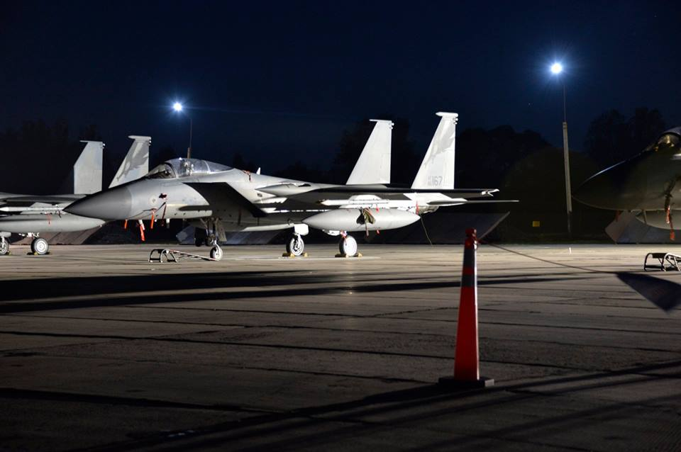 144th FW deploys F-15C Eagle fighters to Ukraine for the first time