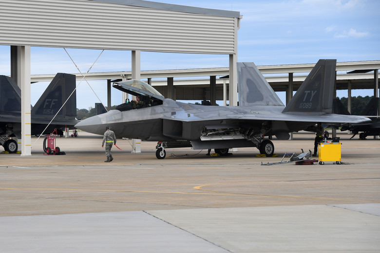 """Tyndall F-22s damaged by Hurricane Michael likely fixable,"" Defense Secretary Jim Mattis says"