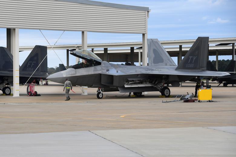 """Tyndall F-22s damaged by Hurricane Michael likely fixable,"" Defense Secretary Jim Mattis says"