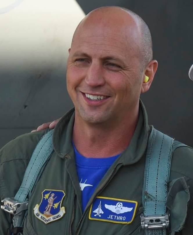 """Lt. Col. Seth """"Jethro"""" Nehring was the U.S. fighter pilot aboard the Ukrainian Su-27UB that crashed during Ex. Clear Sky on Oct. 16"""