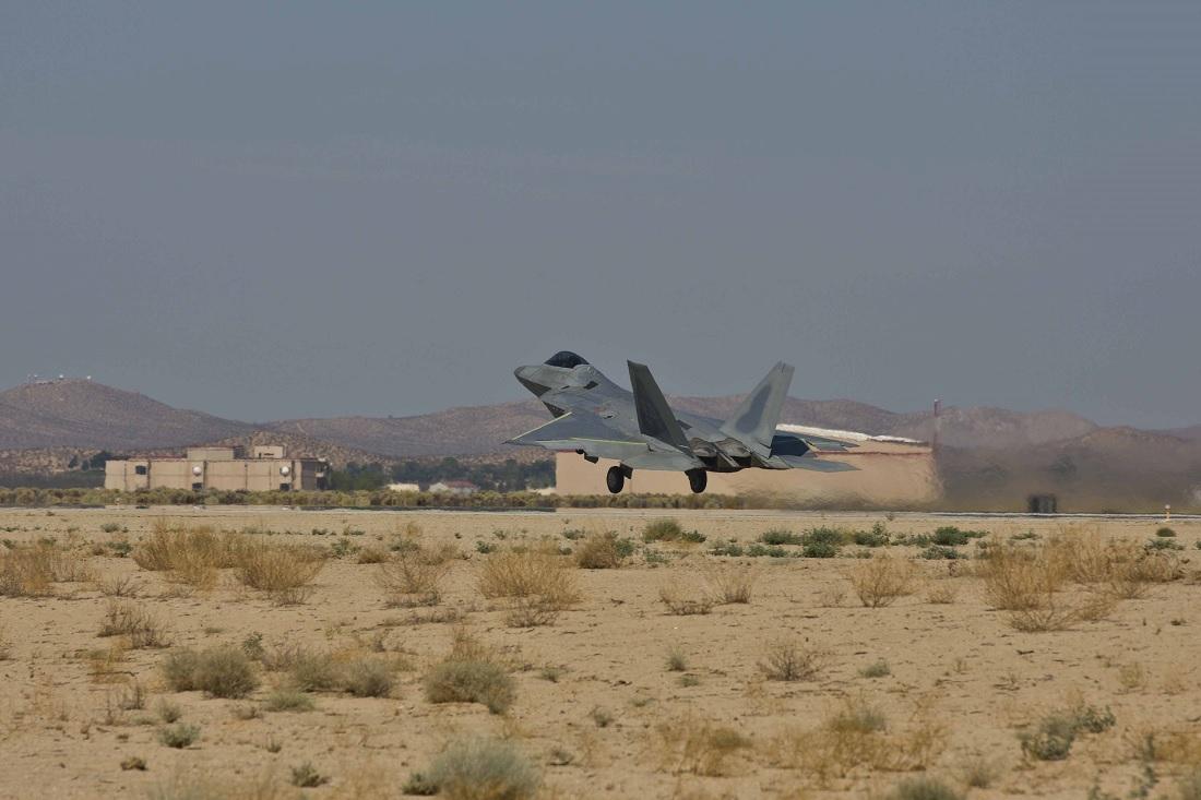 Oldest flying F-22 Raptor returns to service