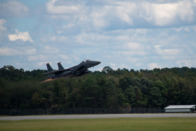 Seymour Johnson F-15E Strike Eagle hits 10,000 flying hours