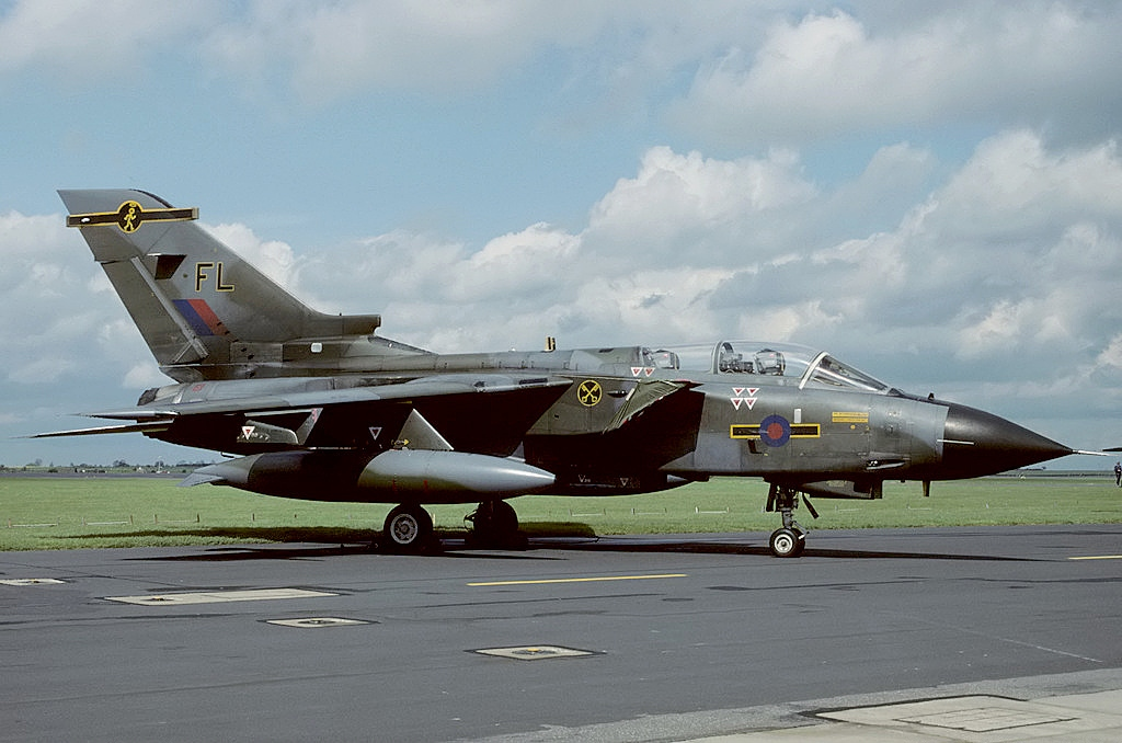 That time a RAF Tornado made an emergency landing at F-117's top-secret Tonopah Air Force Base