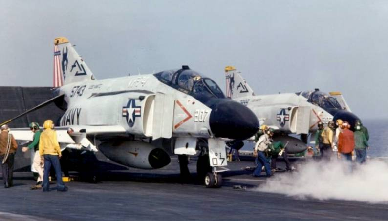 That time a U.S. Navy F-4 (flown by a USAF exchange pilot) shot down a U.S. Navy F-4