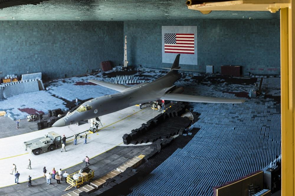 Edwards BAF provides B-1B's AN/ALQ-161A countermeasure system with a