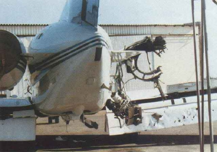 That time a Cuban-flown Angolan MiG-23 accidentally fired two missiles at a BAe 125 business jet carrying the president of Botswana