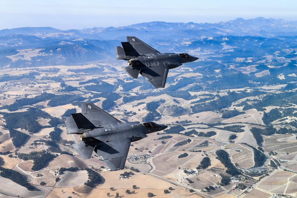 U.S. Navy Declares F-35C Initial Operational Capability