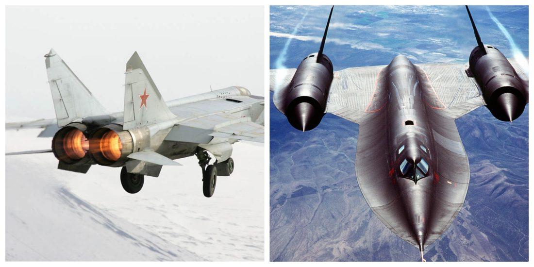 Uma visão geral das operações do MiG-25PD conduzidas contra os SR-71 sobrevoando o Mar Báltico