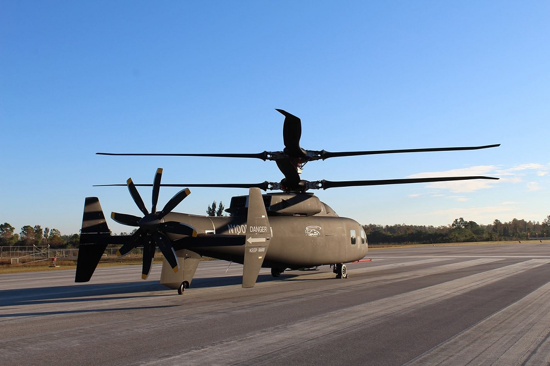 Here are the first photos of Sikorsky Boeing SB>1 Defiant Helicopter