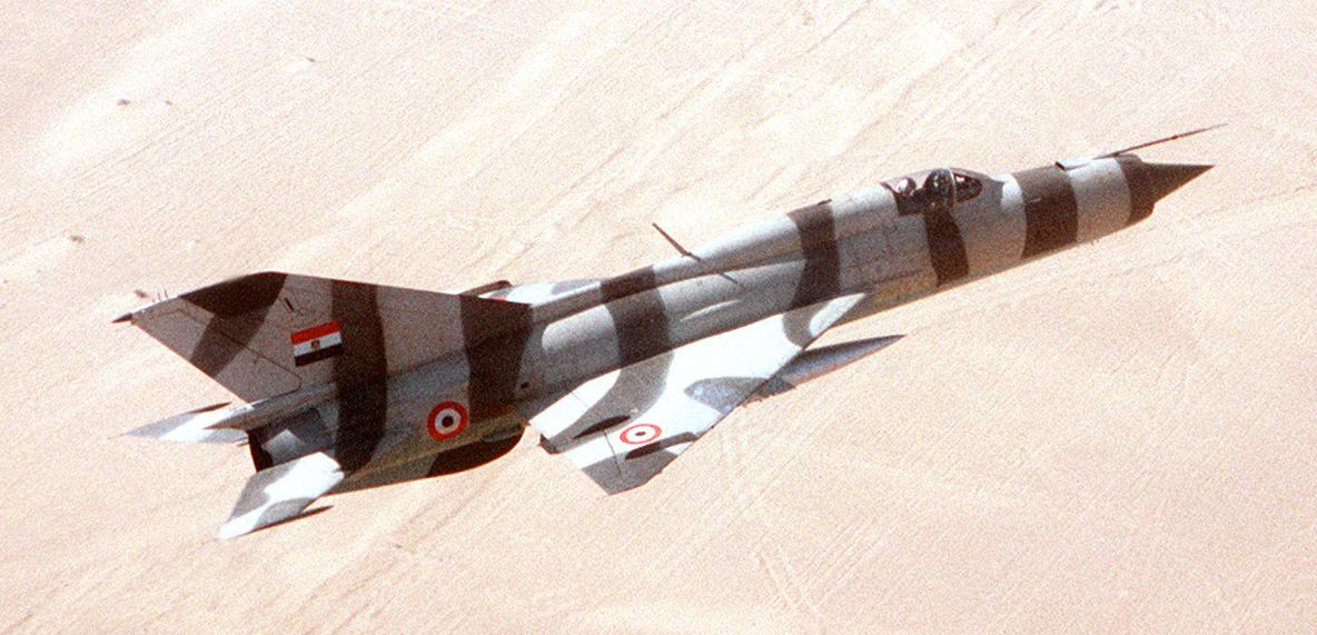 "The story of No.26 Squadron ""Black Ravens"" MiG-21s, the Egyptian Air Force Top Guns of Yom Kippur War"