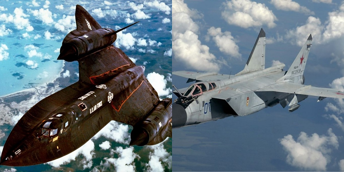 SR-71 Aircrew remembers a Memorable Encounter with a Soviet MiG-31 Interceptor over the Barents Sea