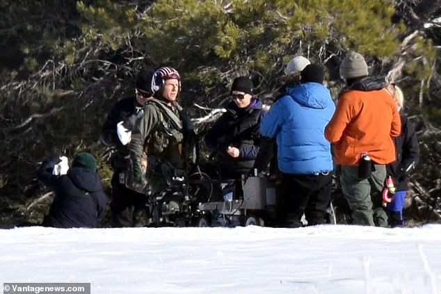Maverick Down? Tom Cruise dives through the snow in Lake Tahoe for intense Top Gun 2 scenes