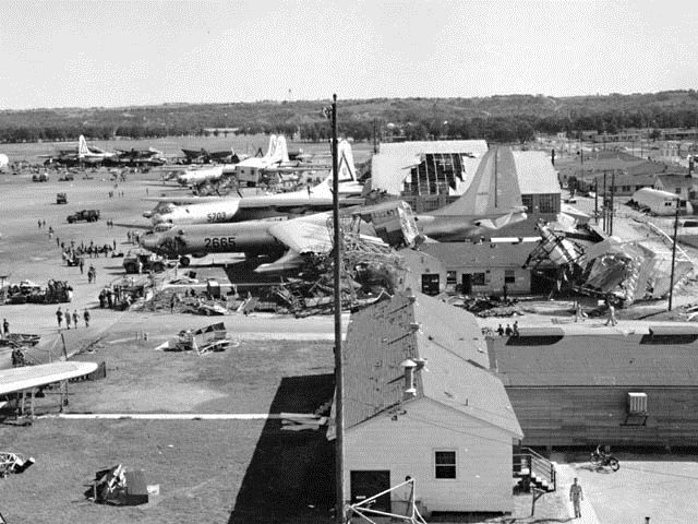 Remembering the 1952 Carswell AFB Tornado that damaged two-thirds of SAC's B-36 Force