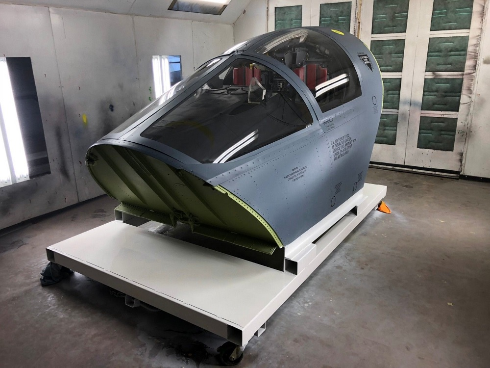 Currently available on Ebay: the only restored F-111D Cockpit Crew