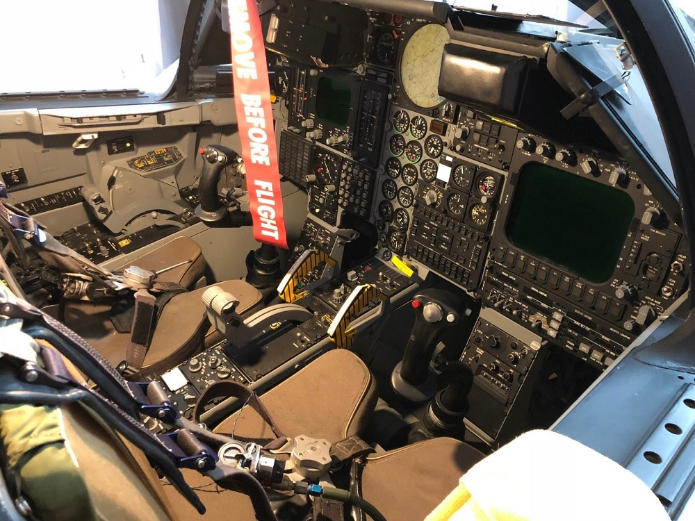 Currently available on Ebay: the only restored F-111D Cockpit Crew Module (Auction is for U.S. Buyers only)