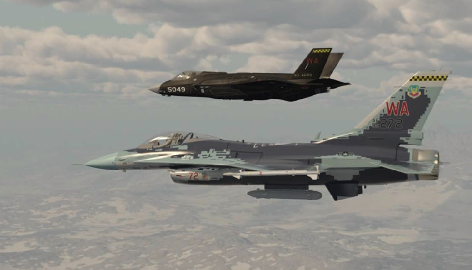 Interesting video features airshow comparison between F-35A and J-31