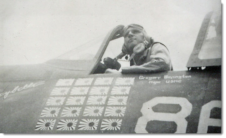 "Pappy Boyington's F4U Corsair ""Lulubelle"" and the Nose Art that Never was"