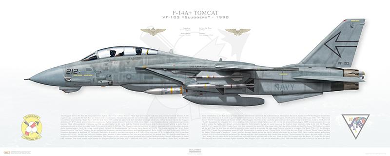 VF-103 Sluggers F-14A+