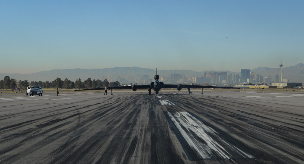 U-2 Dragon Lady Makes Rare Appearance at Nellis AFB