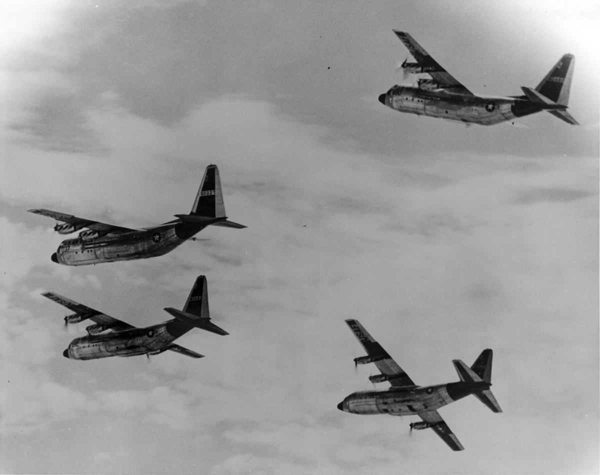 The Story of The Four Horsemen, the C-130 Demonstration Team