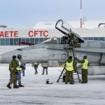 "First Two Australian F/A-18A ""interim fighters"" for RCAF arrived in Cold Lake"