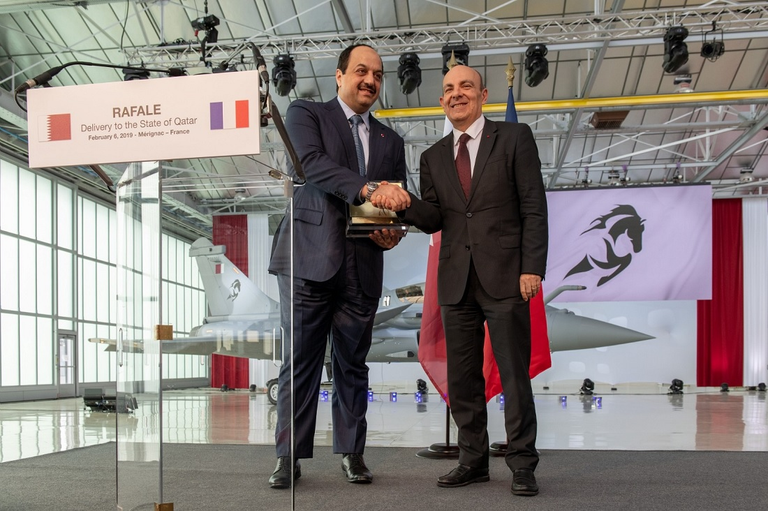 Dassault delivers first Rafale fighter to Qatar