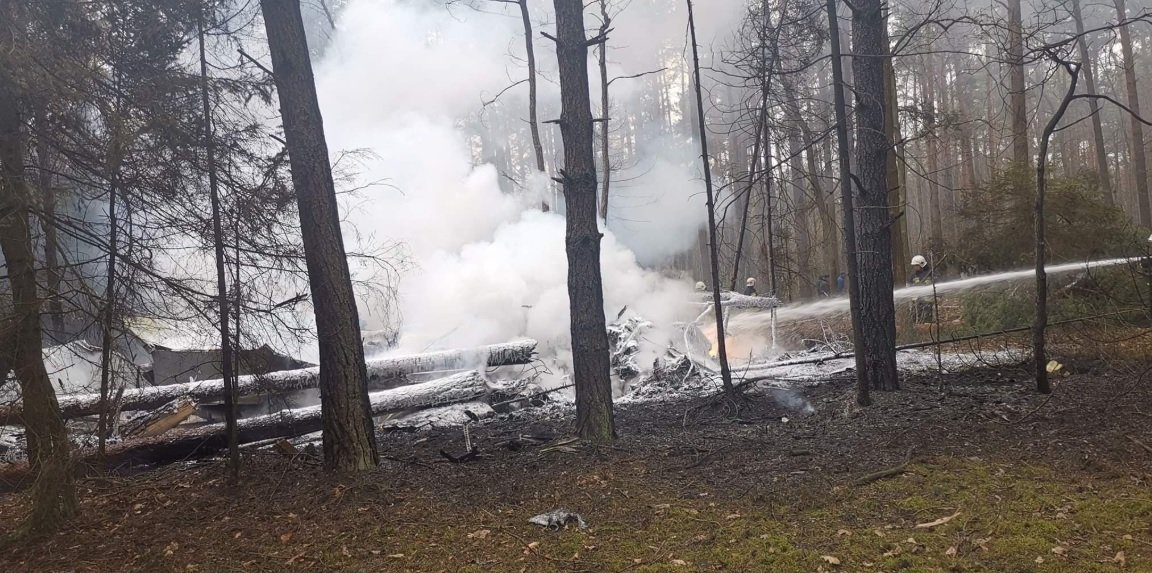 Polish Air Force MiG-29 Fighter Jet Crashes, injuring pilot
