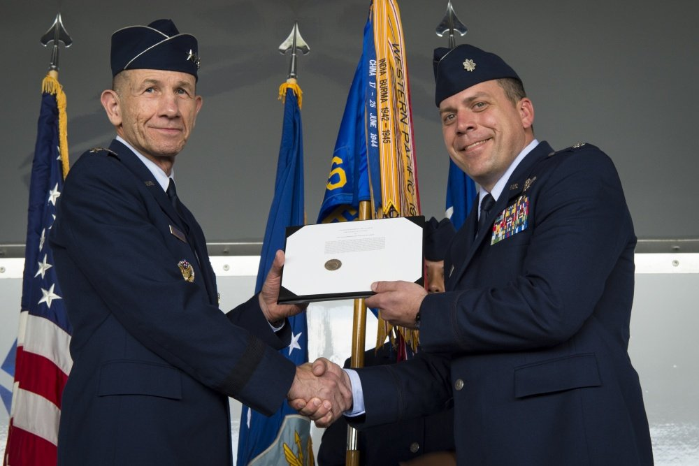 74th EFS A-10s receive Gallant Unit Citation for extraordinary heroism in action against ISIS