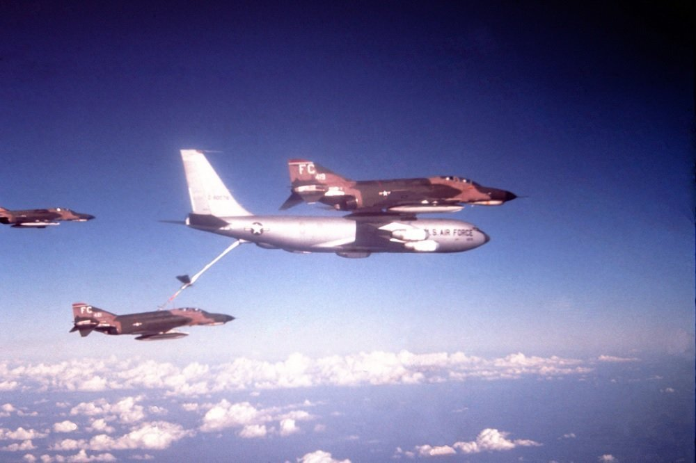 The Story of North Star, the KC-135 Stratotanker that Saved an F-4 Phantom over the Atlantic