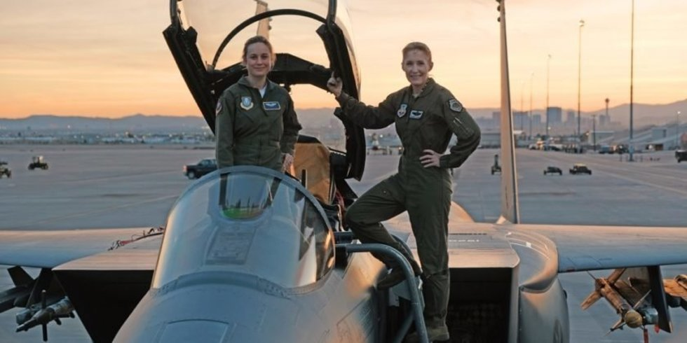 Captain Marvel Movie pays tribute to Fallen Thunderbird, Air Force Heritage, and Aviation History