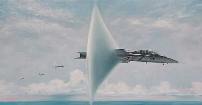 The unknown story of the four simultaneous F/A-18F Super Hornet Sonic Booms that no one saw