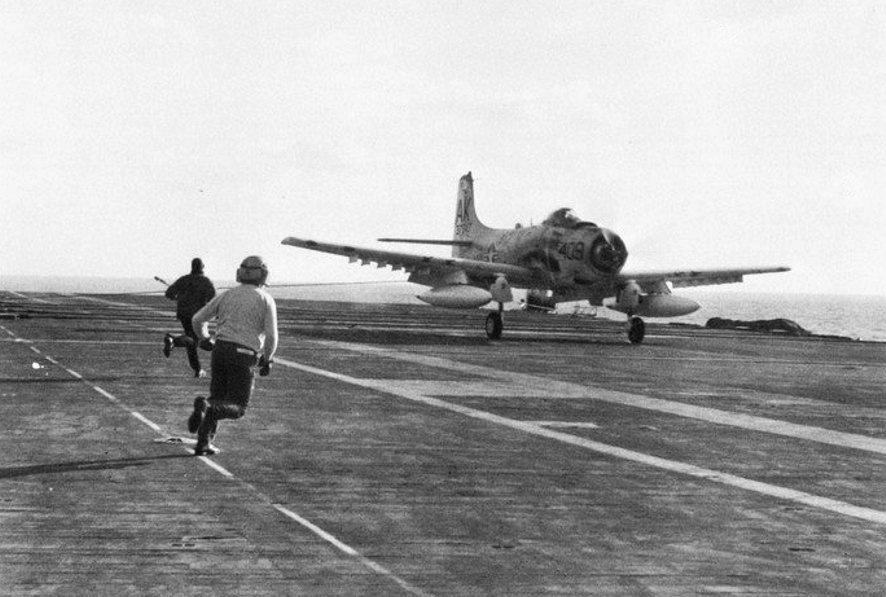 """Spads four - MiGs nothing"": Skyraider MiG Kills Part II"