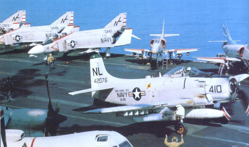 A-1 Vs MiG-17: Skyraider MiG Kills Part I