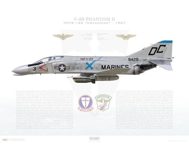 Remembering VMFA-122 'F-4V', the USMC Phantom II featuring a unique Three Gun-Pod Configuration