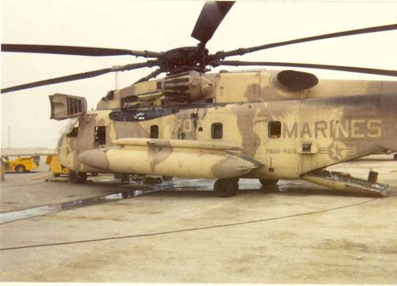 These USMC CH-53s wore a Sexy Paint Scheme during Operation Desert Storm