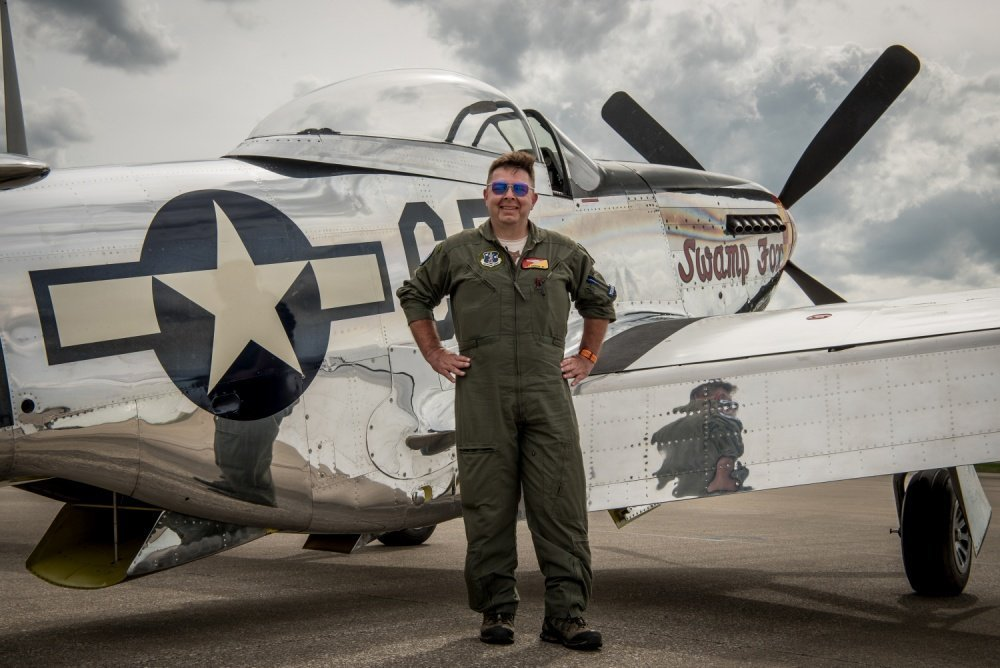 This P-51 Mustang returned home to Kentucky Air Guard after 63 years