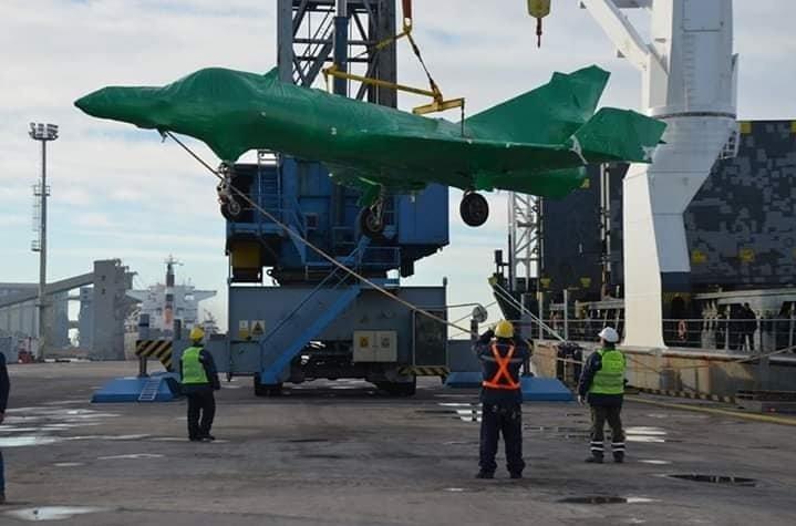 The Super Étendard Modernisé attack aircraft have arrived in Argentina