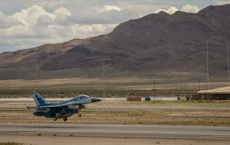 F-16 Ghost performs first flight