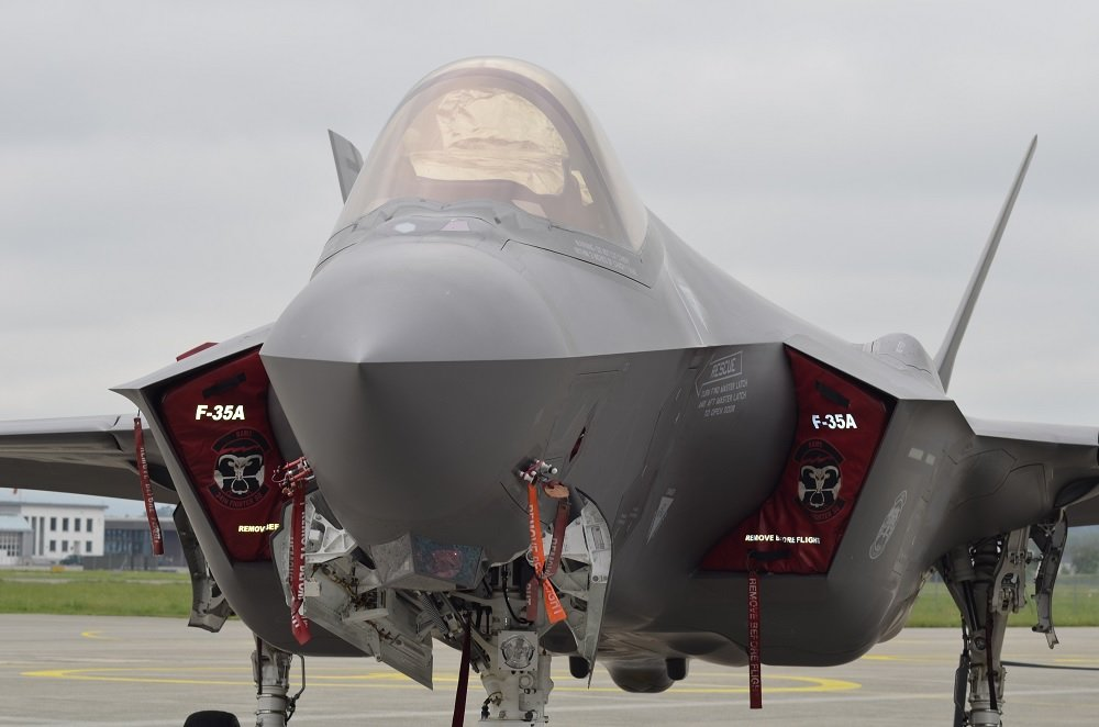 F-35 Lightning II takes the stage at Switzerland's Payerne