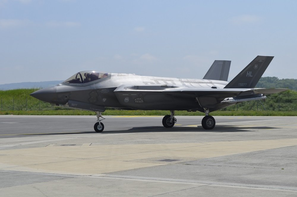 F-35 Lightning II takes the stage at Switzerland's Payerne Air Base