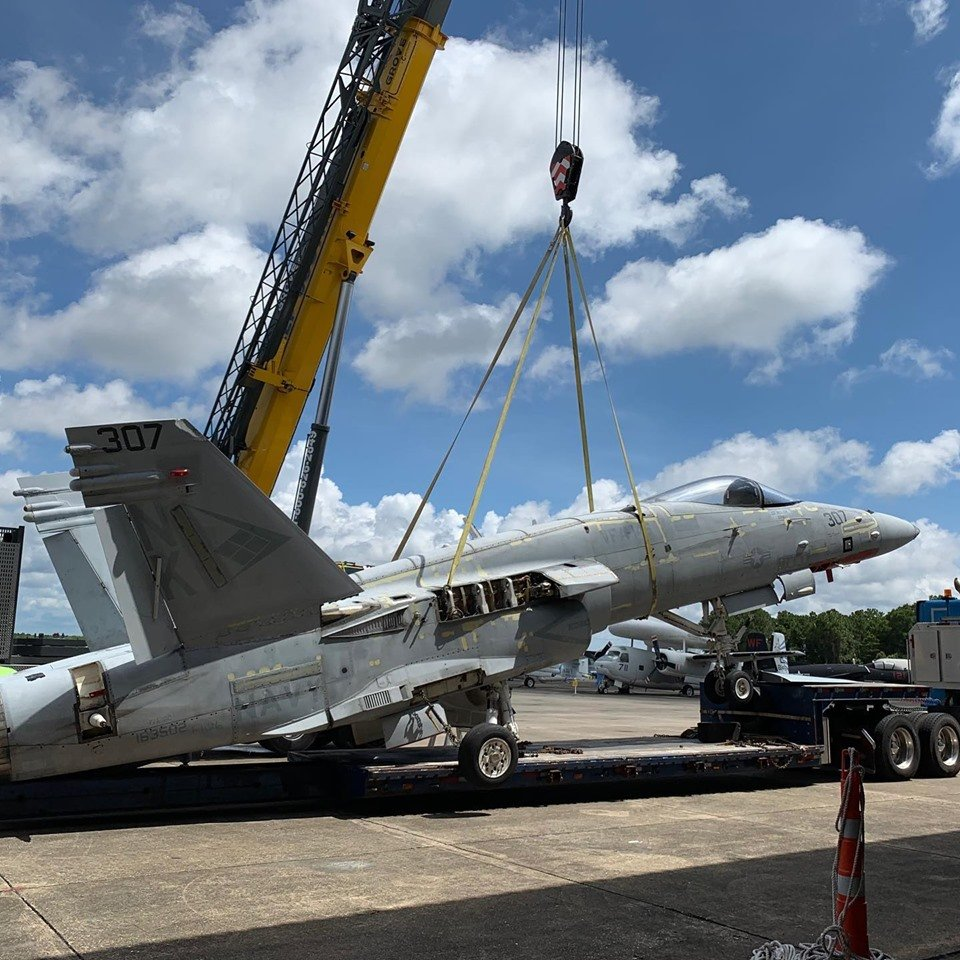 F/A-18C Hornets that shot down Iraqi MiG-21s during ODS are now part of National Naval Aviation Museum collection