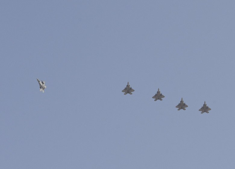 USAF Deploys F-22 Raptors to Qatar for first time Amid Tensions with Iran