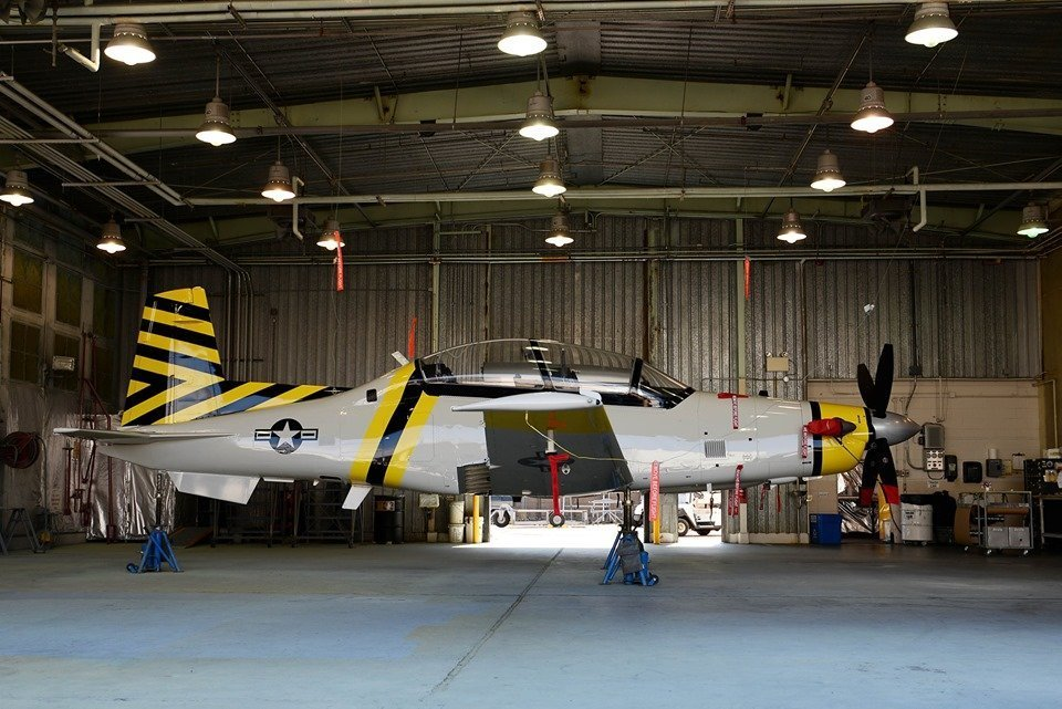 USAF T-6 Texan II in heritage colors unveiled